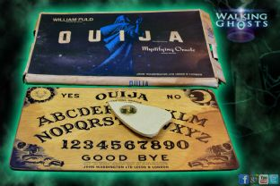 Ouija Board Rare1960s Williams Fuld' John Waddington UK Vintage Oracle Game V16